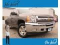 Chevrolet Silverado 1500 LT Extended Cab 4x4 Graystone Metallic photo #1
