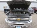 Chevrolet Silverado 1500 LT Extended Cab 4x4 Graystone Metallic photo #5