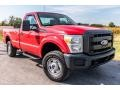 Ford F250 Super Duty XL Regular Cab 4x4 Vermillion Red photo #1