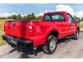 Ford F250 Super Duty XL Regular Cab 4x4 Vermillion Red photo #4