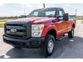 Ford F250 Super Duty XL Regular Cab 4x4 Vermillion Red photo #8