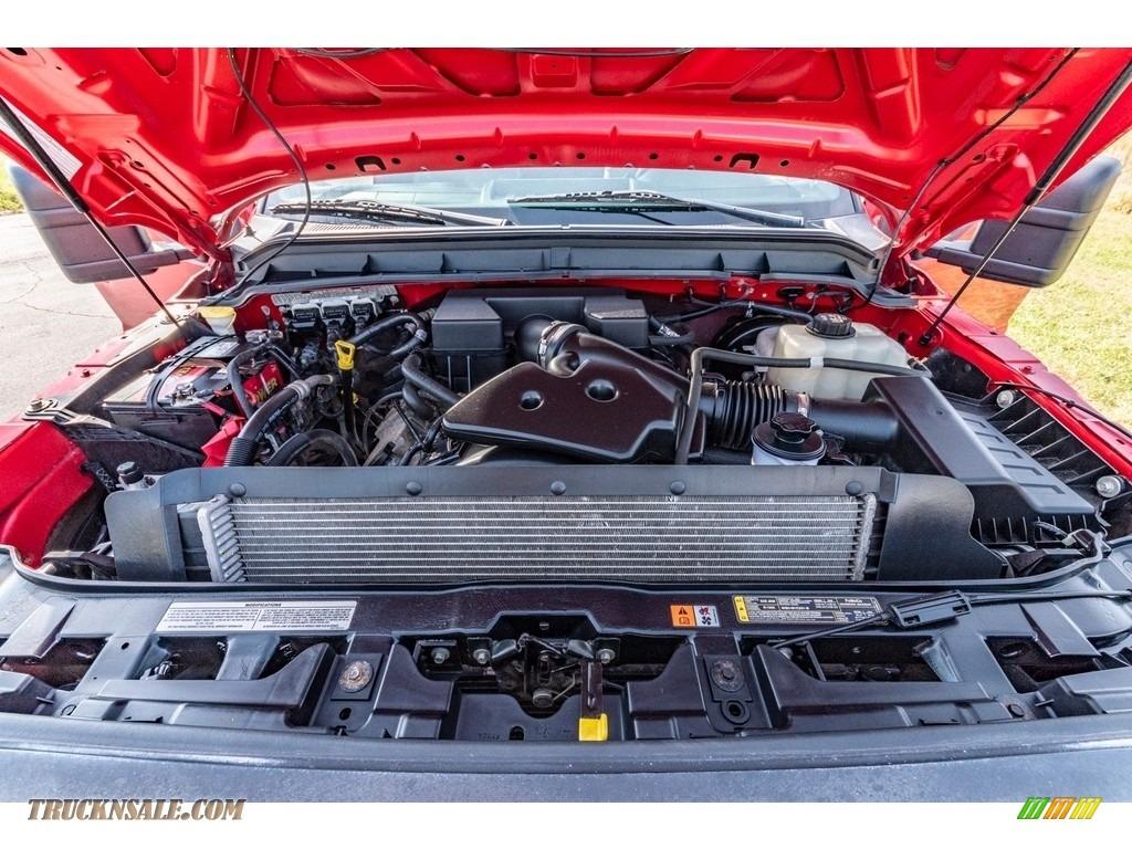 2011 F250 Super Duty XL Regular Cab 4x4 - Vermillion Red / Steel Gray photo #16