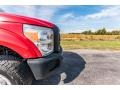 Ford F250 Super Duty XL Regular Cab 4x4 Vermillion Red photo #17
