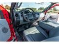 Ford F250 Super Duty XL Regular Cab 4x4 Vermillion Red photo #22