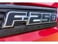 Ford F250 Super Duty XL Regular Cab 4x4 Vermillion Red photo #35