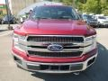 Ford F150 King Ranch SuperCrew 4x4 Ruby Red photo #4
