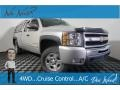 Chevrolet Silverado 1500 LT Extended Cab 4x4 Silver Birch Metallic photo #1