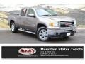 GMC Sierra 1500 SLT Crew Cab 4x4 Mocha Steel Metallic photo #1