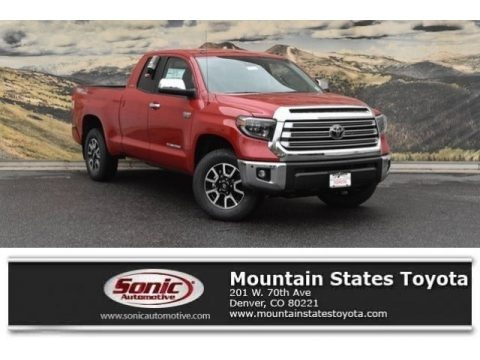 Barcelona Red Metallic 2019 Toyota Tundra Limited Double Cab 4x4