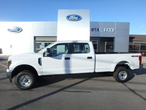 Oxford White 2019 Ford F250 Super Duty XL Crew Cab 4x4