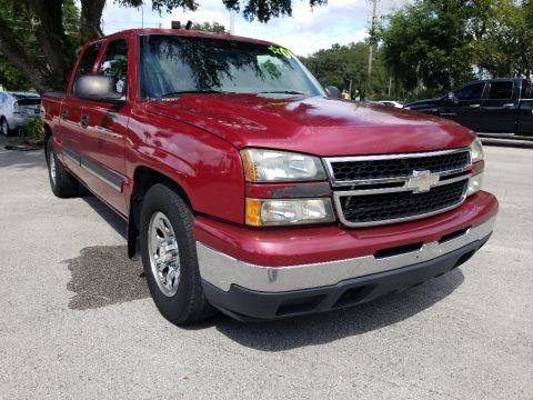 Victory Red 2006 Chevrolet Silverado 1500 LS Crew Cab