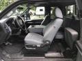 Ford F250 Super Duty XLT SuperCab 4x4 Ingot Silver Metallic photo #3