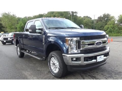 Blue Jeans 2019 Ford F250 Super Duty XLT Crew Cab 4x4