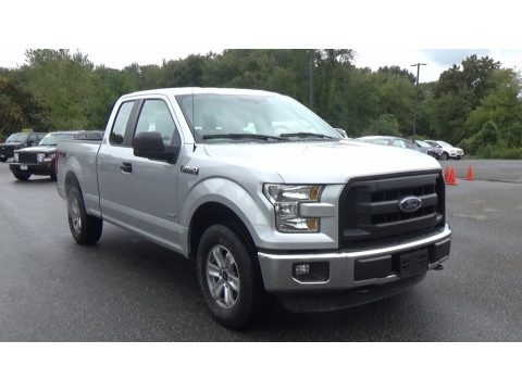 Ingot Silver 2016 Ford F150 XL SuperCab 4x4