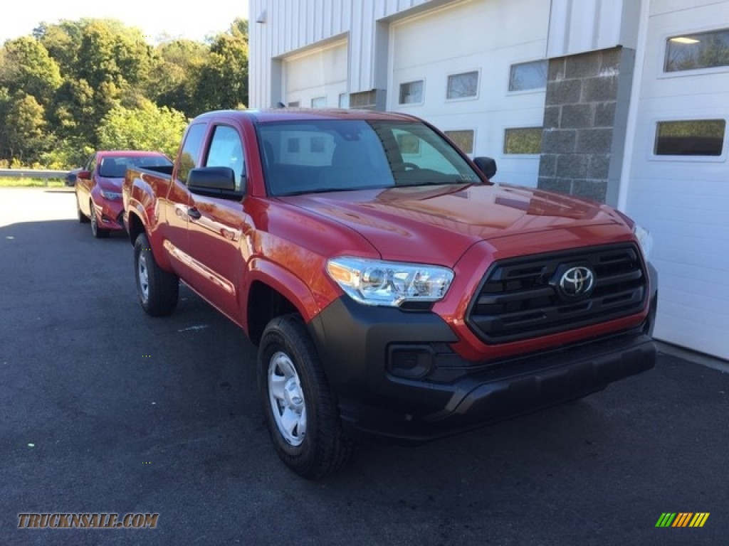 2019 Tacoma SR Access Cab 4x4 - Barcelona Red Metallic / Cement Gray photo #1