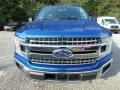 Ford F150 XLT SuperCrew 4x4 Lightning Blue photo #7