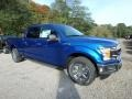 Ford F150 XLT SuperCrew 4x4 Lightning Blue photo #8