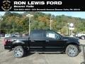 Ford F150 XLT SuperCrew 4x4 Shadow Black photo #1
