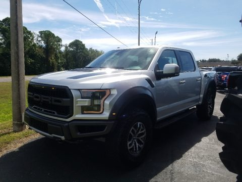 Ingot Silver 2018 Ford F150 SVT Raptor SuperCrew 4x4