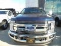 Ford F350 Super Duty XLT Crew Cab 4x4 Blue Jeans photo #2