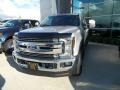 Ford F350 Super Duty XLT Crew Cab 4x4 Ingot Silver photo #1