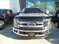 Ford F350 Super Duty XLT Crew Cab 4x4 Ingot Silver photo #2