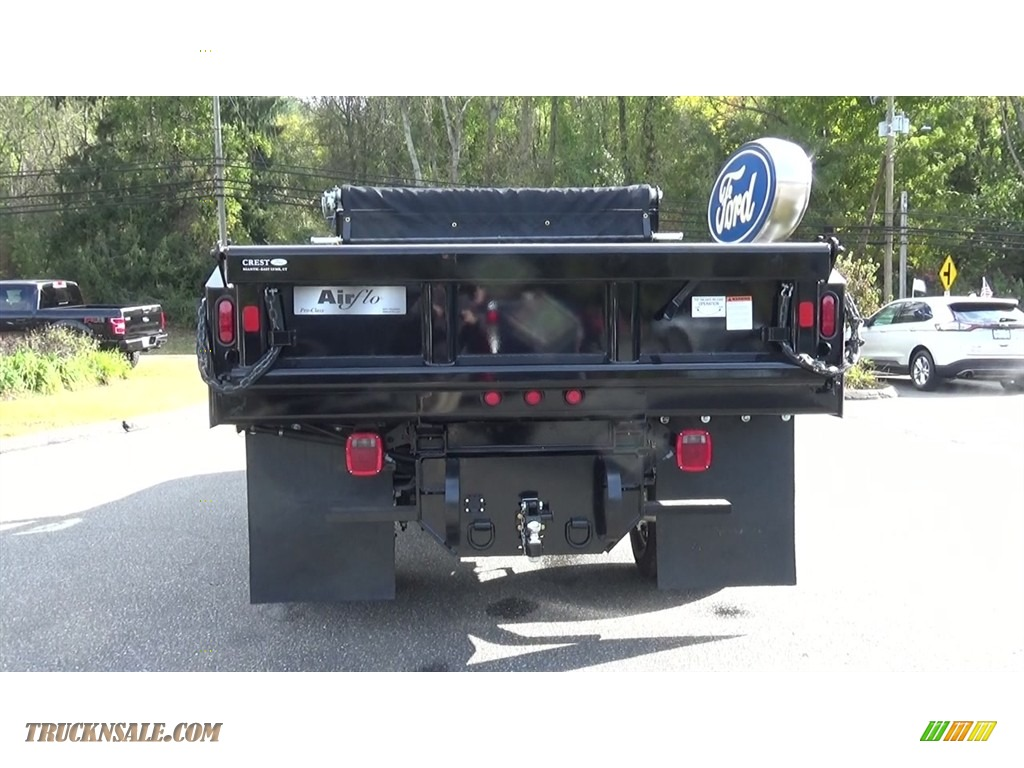 2019 F350 Super Duty XL Regular Cab 4x4 Dump Truck - Oxford White / Earth Gray photo #6
