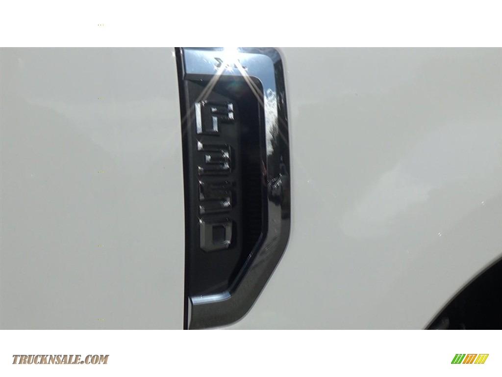 2019 F350 Super Duty XL Regular Cab 4x4 Dump Truck - Oxford White / Earth Gray photo #22