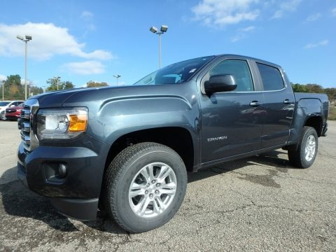Dark Sky Metallic 2019 GMC Canyon SLE Crew Cab 4WD