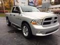 Dodge Ram 1500 ST Quad Cab 4x4 Bright Silver Metallic photo #1