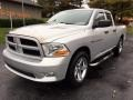 Dodge Ram 1500 ST Quad Cab 4x4 Bright Silver Metallic photo #3