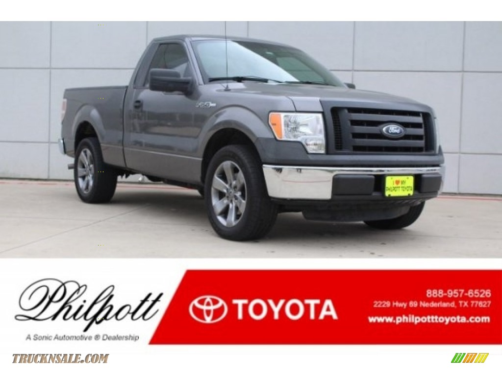 2012 F150 XL Regular Cab - Sterling Gray Metallic / Steel Gray photo #1