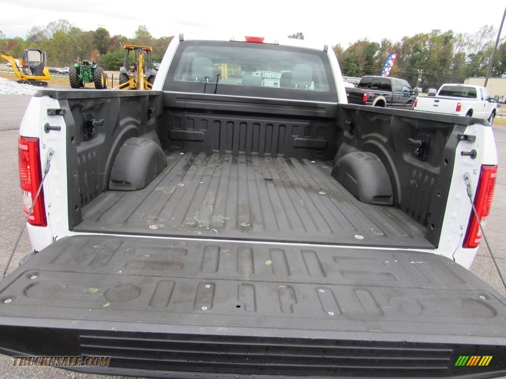 2016 F150 XL SuperCab 4x4 - Oxford White / Medium Earth Gray photo #36