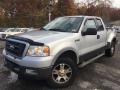 Ford F150 FX4 SuperCab 4x4 Silver Metallic photo #1