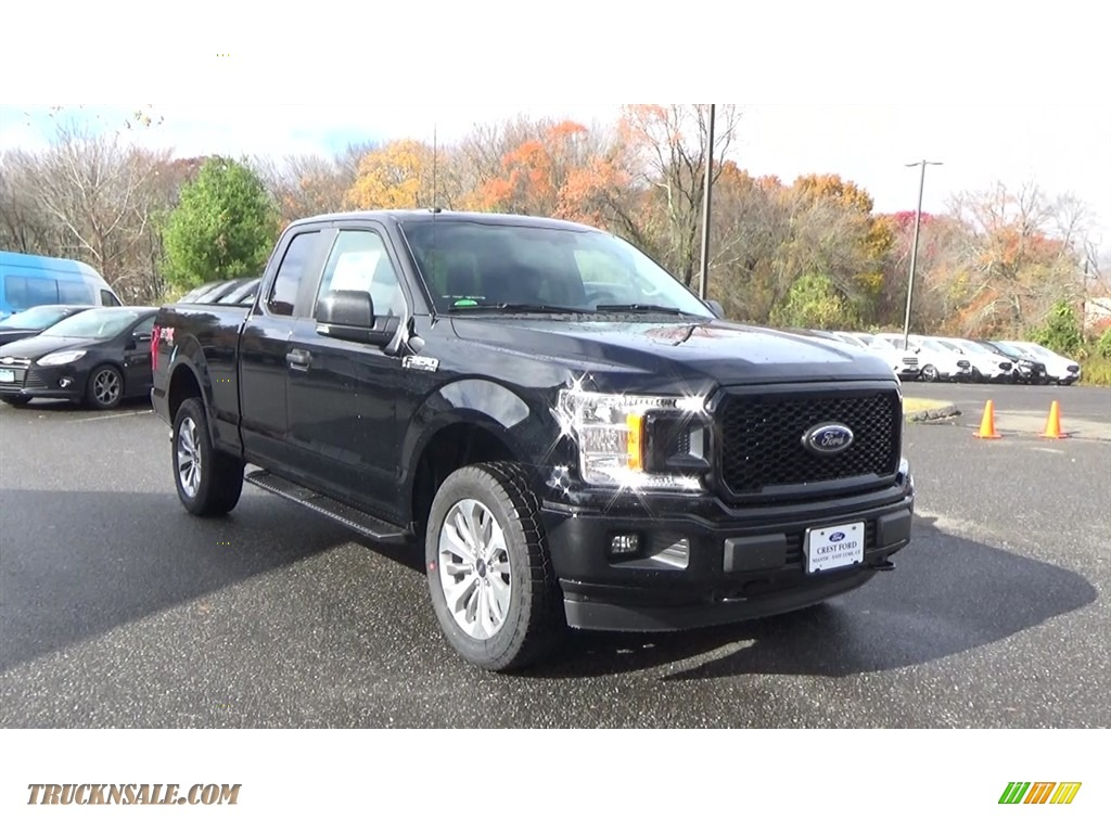 Shadow Black / Earth Gray Ford F150 XL SuperCab 4x4