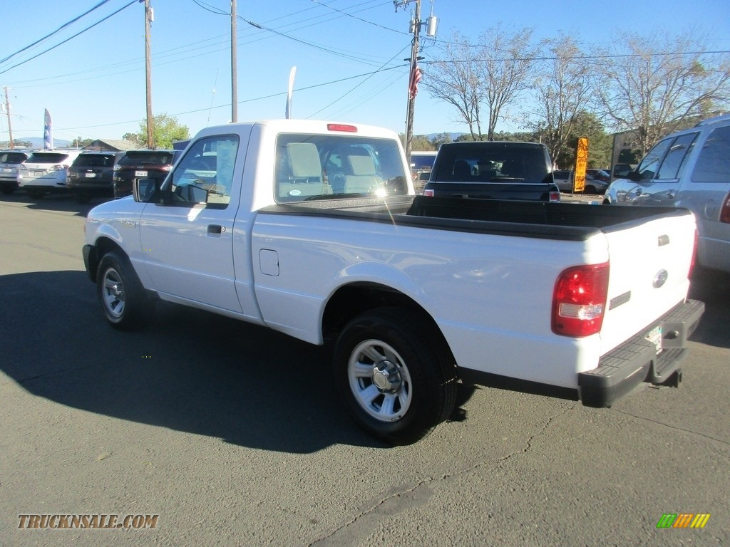 2010 Ranger XL Regular Cab - Oxford White / Medium Dark Flint photo #5