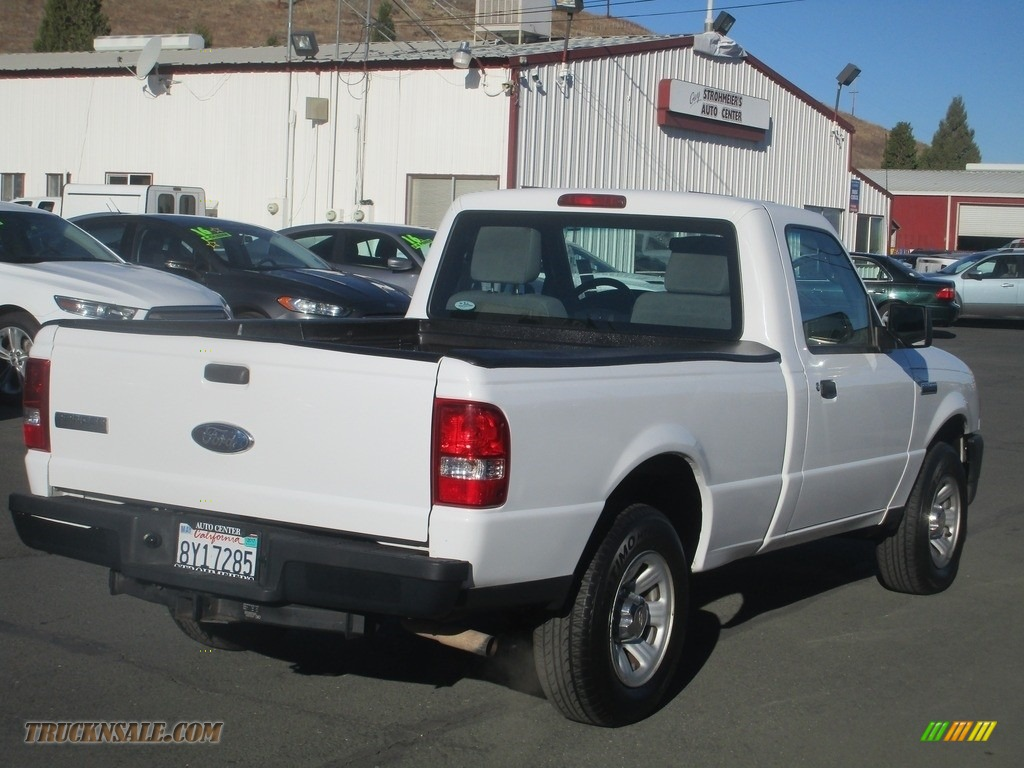 2010 Ranger XL Regular Cab - Oxford White / Medium Dark Flint photo #7