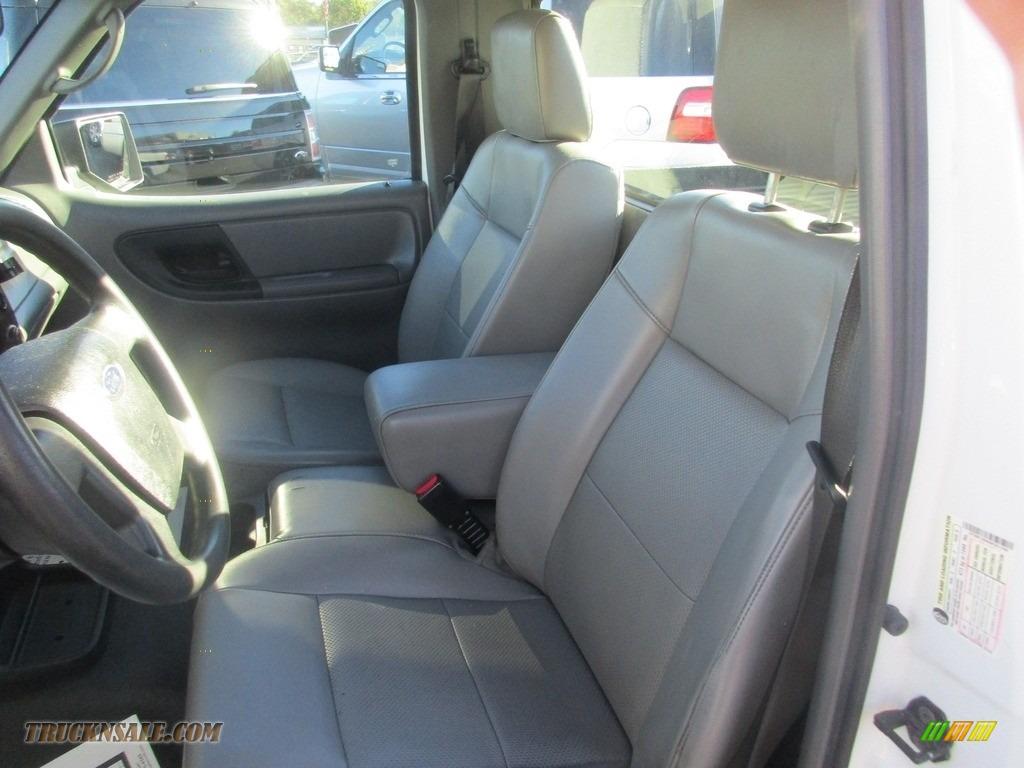 2010 Ranger XL Regular Cab - Oxford White / Medium Dark Flint photo #8