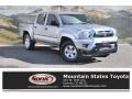 Toyota Tacoma V6 Double Cab 4x4 Silver Sky Metallic photo #1