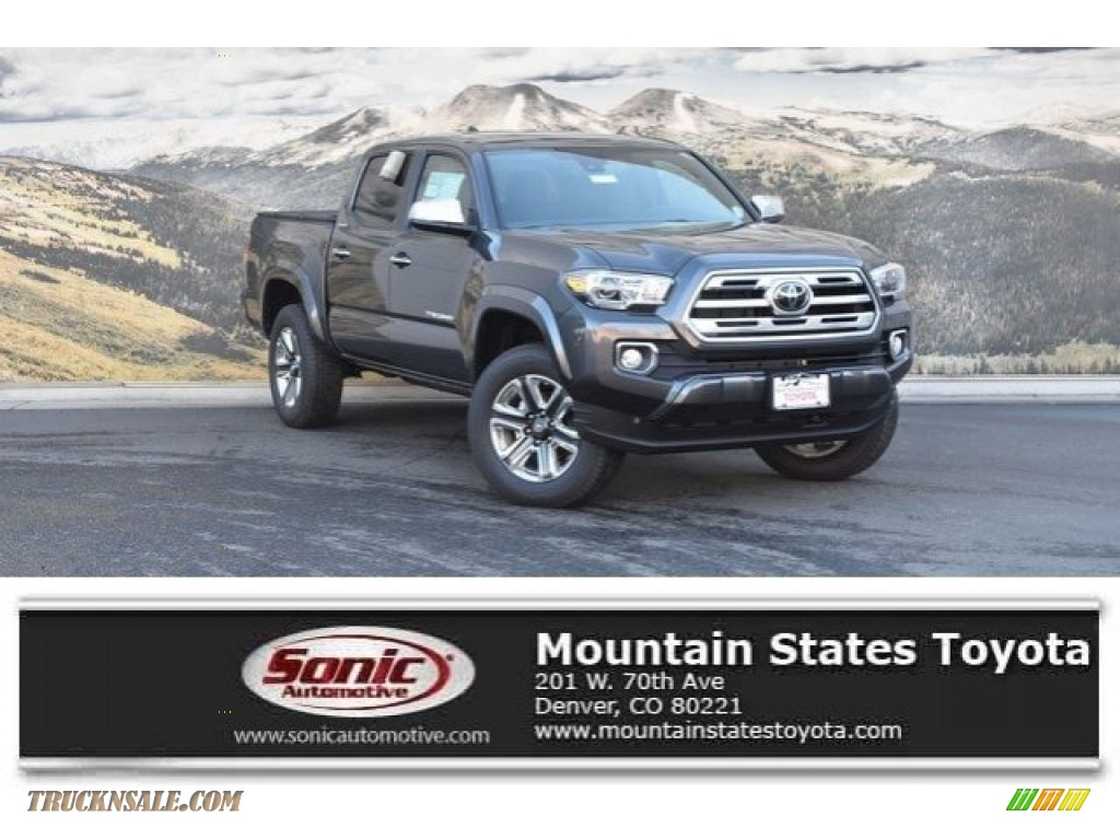 2019 Tacoma Limited Double Cab 4x4 - Magnetic Gray Metallic / Cement Gray photo #1