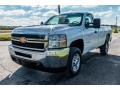 Chevrolet Silverado 2500HD Work Truck Regular Cab 4x4 Plow Truck Summit White photo #8