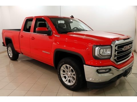 Cardinal Red 2016 GMC Sierra 1500 SLE Double Cab 4WD
