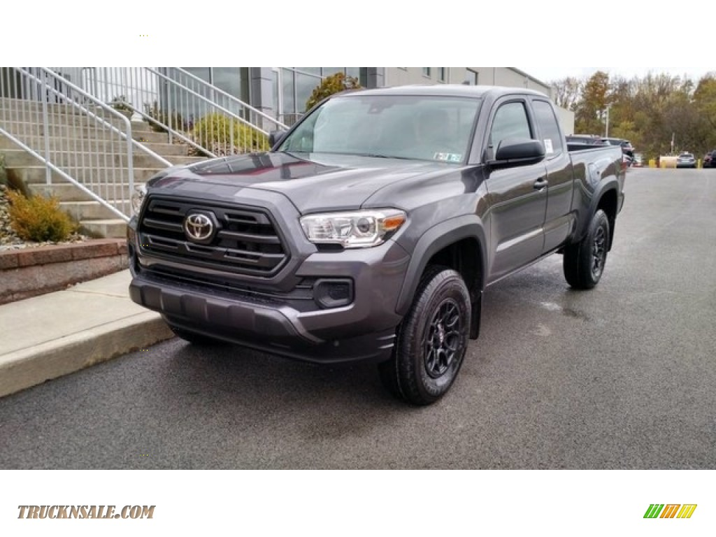 2019 Tacoma SR Access Cab 4x4 - Magnetic Gray Metallic / Cement Gray photo #1