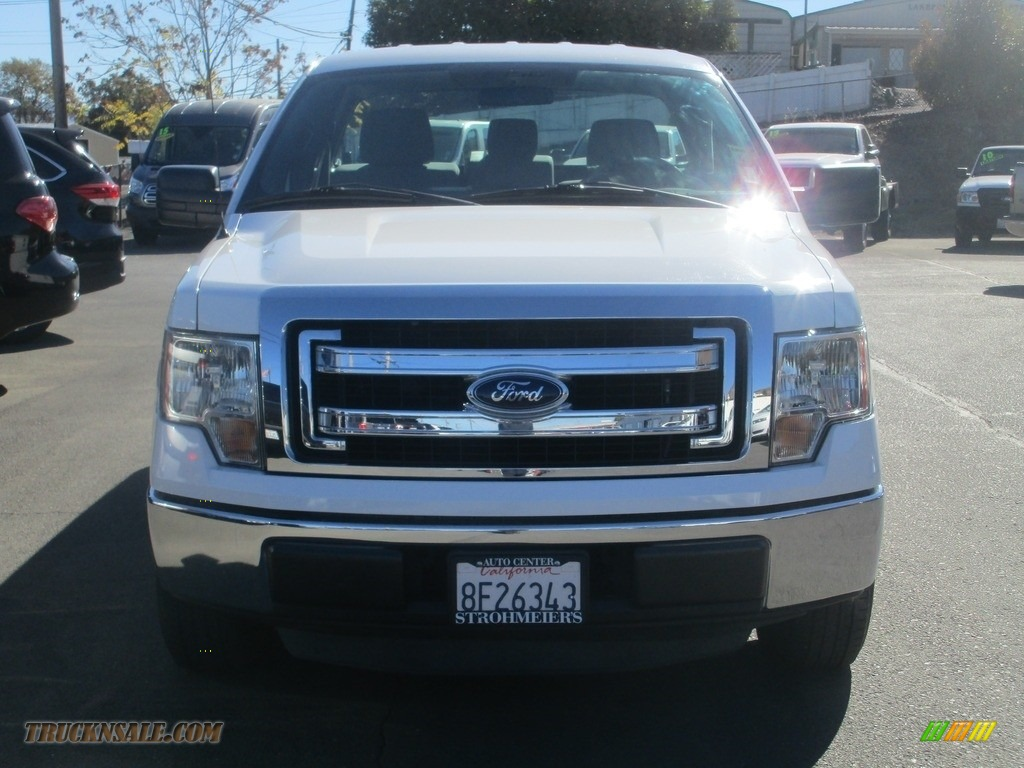 2013 F150 XL Regular Cab - Oxford White / Steel Gray photo #2