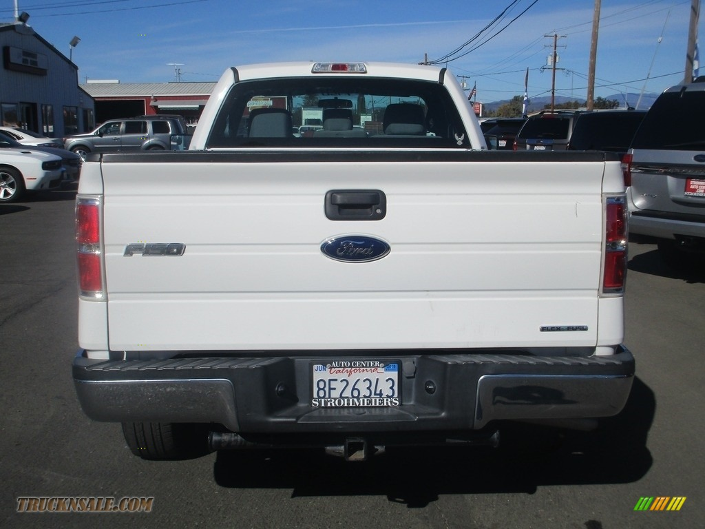 2013 F150 XL Regular Cab - Oxford White / Steel Gray photo #6