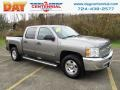 Chevrolet Silverado 1500 LT Crew Cab 4x4 Mocha Steel Metallic photo #1