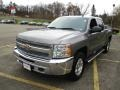 Chevrolet Silverado 1500 LT Crew Cab 4x4 Mocha Steel Metallic photo #14
