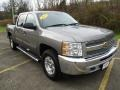 Chevrolet Silverado 1500 LT Crew Cab 4x4 Mocha Steel Metallic photo #16
