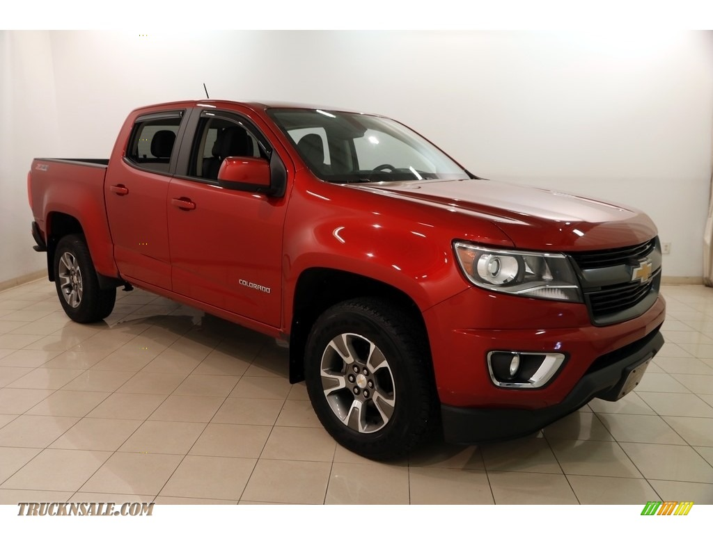 2016 Colorado Z71 Crew Cab 4x4 - Red Rock Metallic / Jet Black photo #1