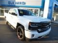 Chevrolet Silverado 1500 LTZ Crew Cab 4x4 Summit White photo #1
